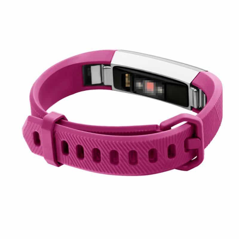 Fitbit alta bandje roze rood - Fitbitbandje.nl