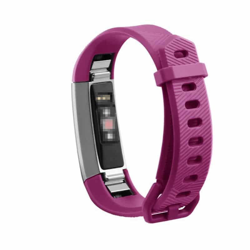 Fitbit alta bandje roze silicone - Fitbitbandje.nl