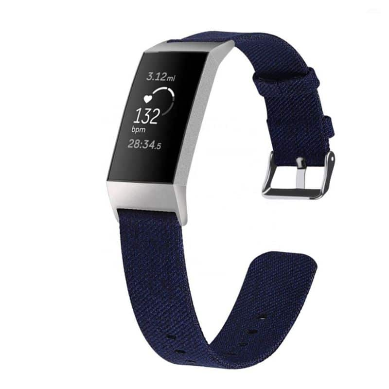 Fitbit bandje Charge 3 Marineblauw - Fitbitbandje.nl