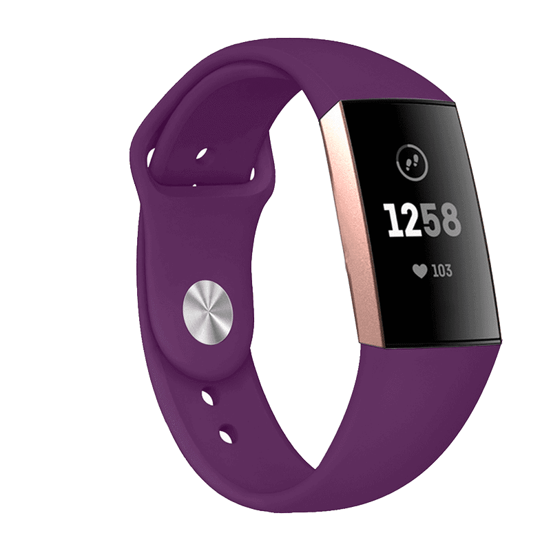 Fitbit bandje Charge 3 Paars - Fitbitbandje.nl