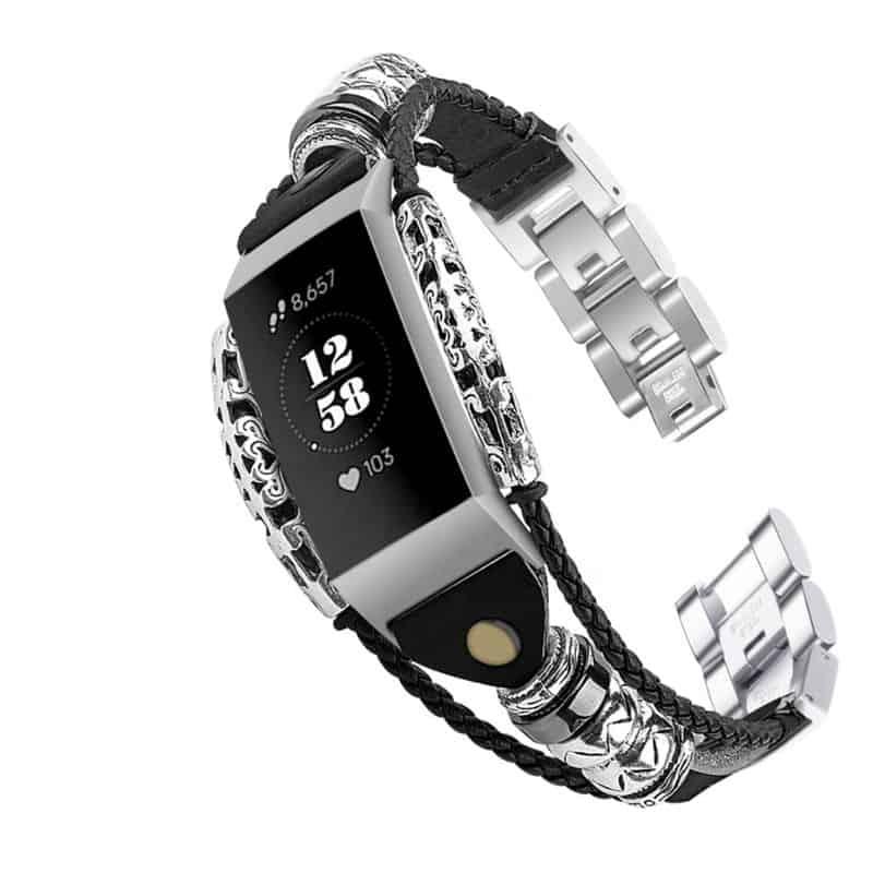 Fitbit bandje Charge 3 - zwart - Fitbitbandje.nl