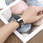 Fitbit bandje Charge 3 – zwart leer – Fitbitbandje.nl