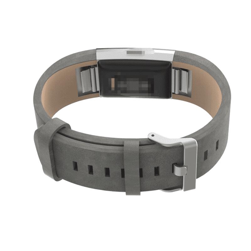 Fitbit bandje charge 2 leer - Fitbitbandje.nl