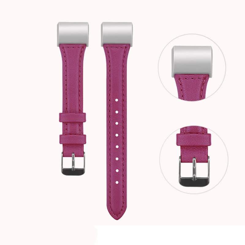 Fitbit bandje charge 2 roze:rood - Fitbitbandje.nl