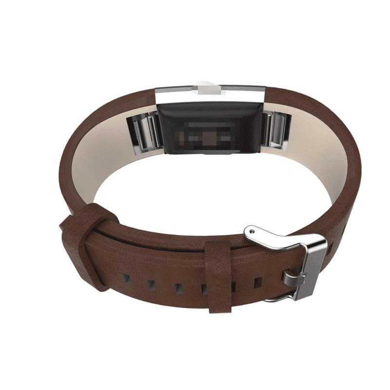 Fitbit bandje charge2 kalfsleer - Fitbitbandje.nl