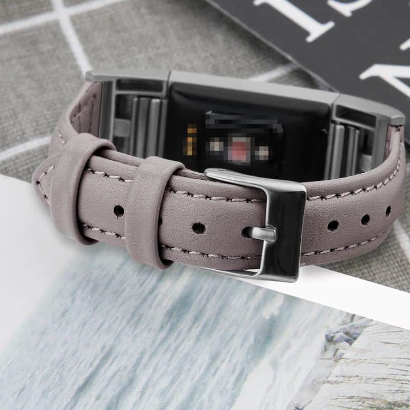 Fitbit charge 2 bandje leer - Fitbitbandje.nl