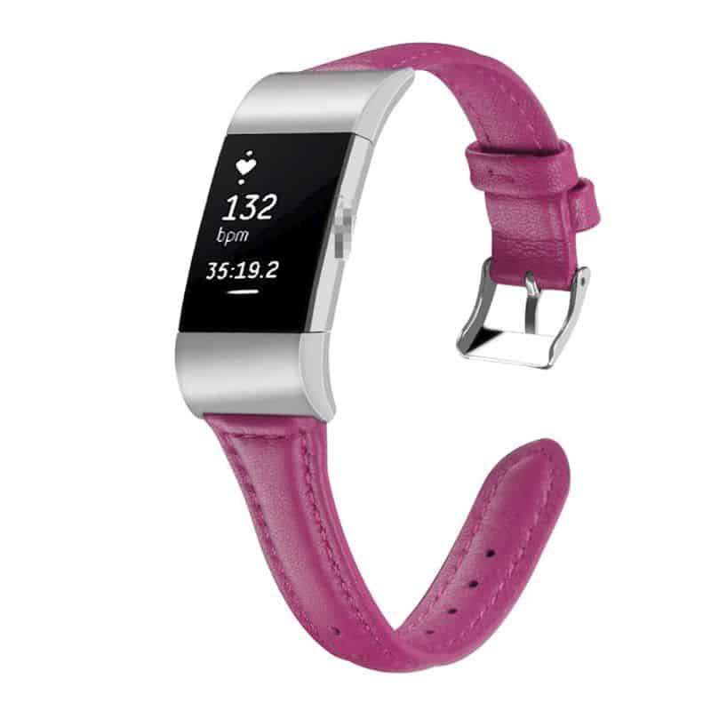 Fitbit charge 2 bandje roze rood - Fitbitbandje.nl