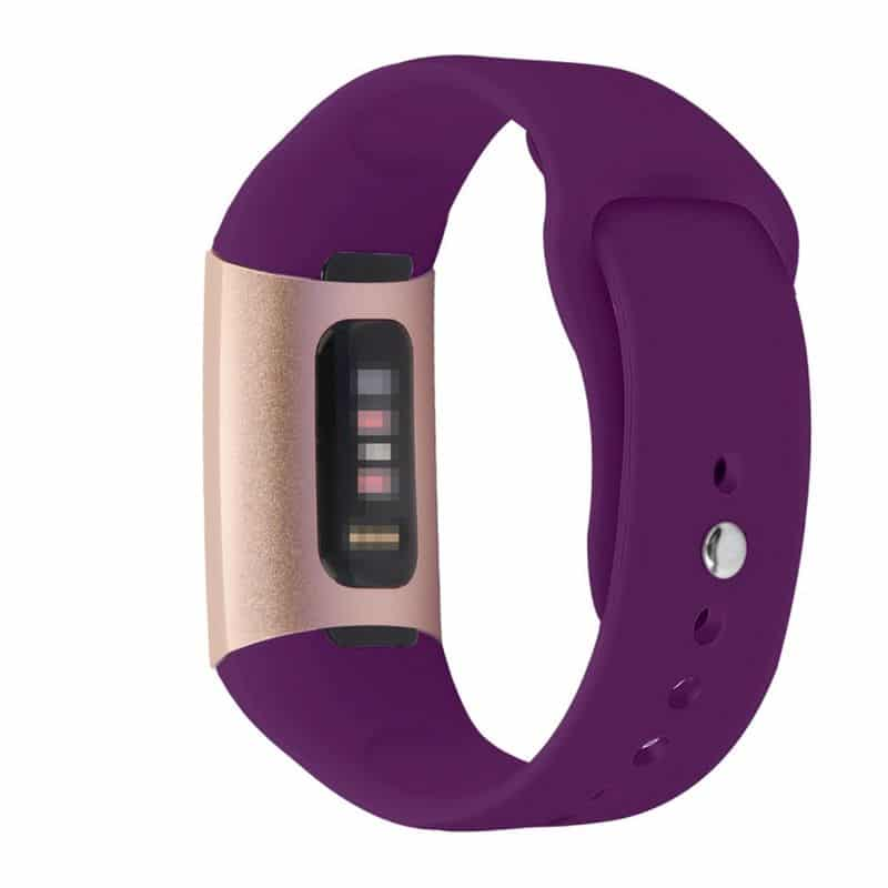 Fitbit charge 3 bandje paars - Fitbitbandje.nl