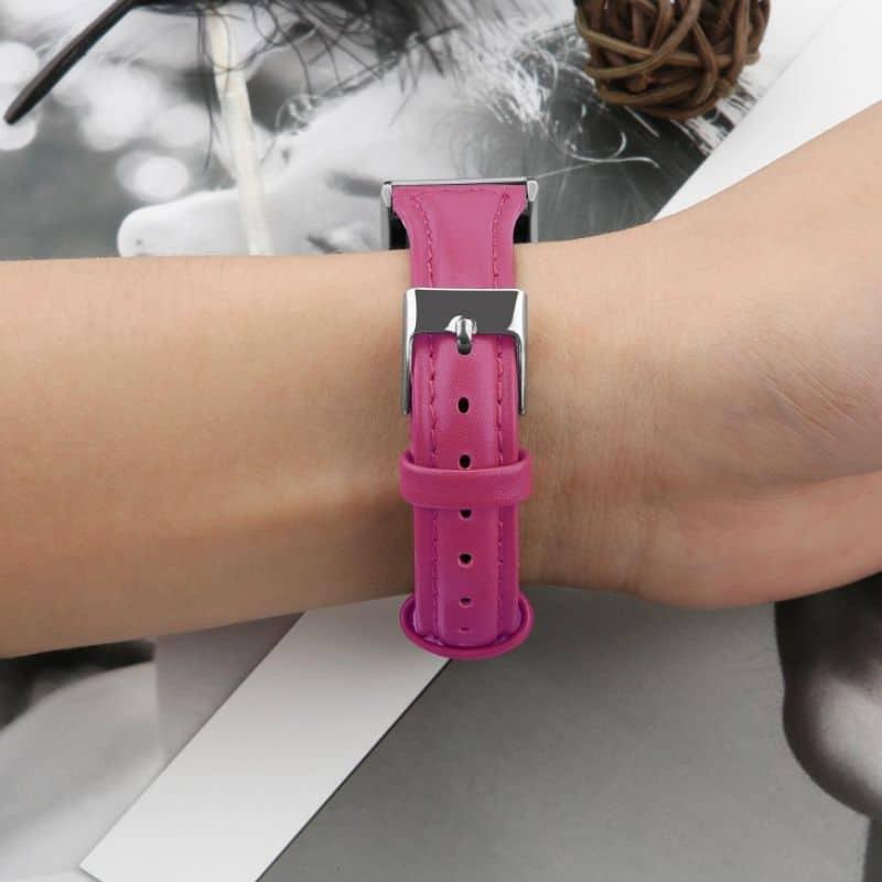 Fitbit charge bandje roze rood - Fitbitbandje.nl