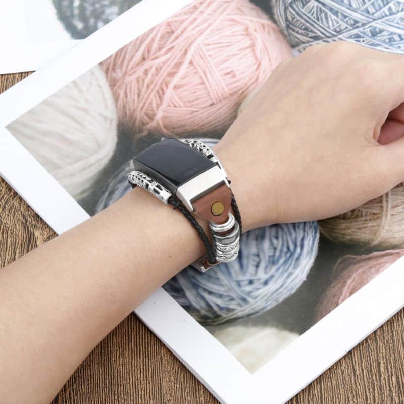 Fitbit charge bandje zwart - Fitbitbandje.nl