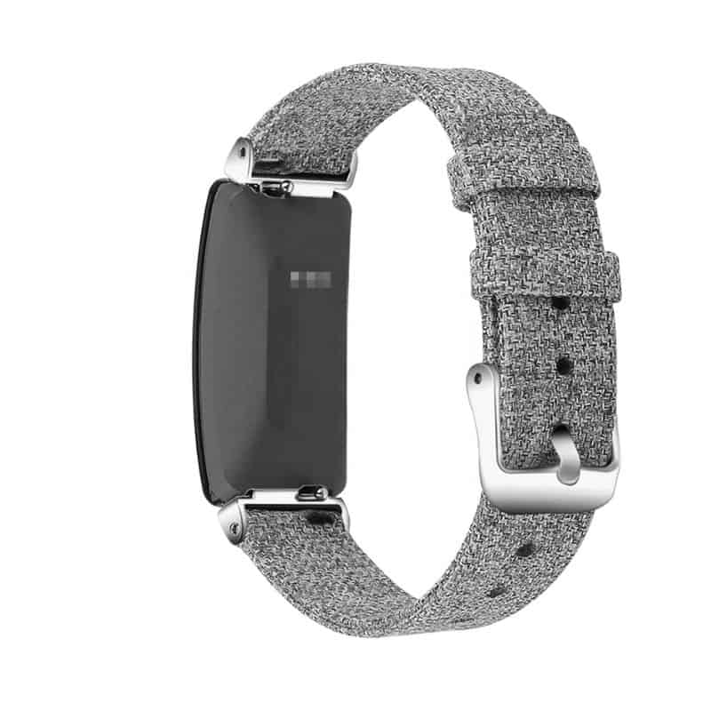 Fitbit inspire hr bandje canvas - Fitbitbandje.nl