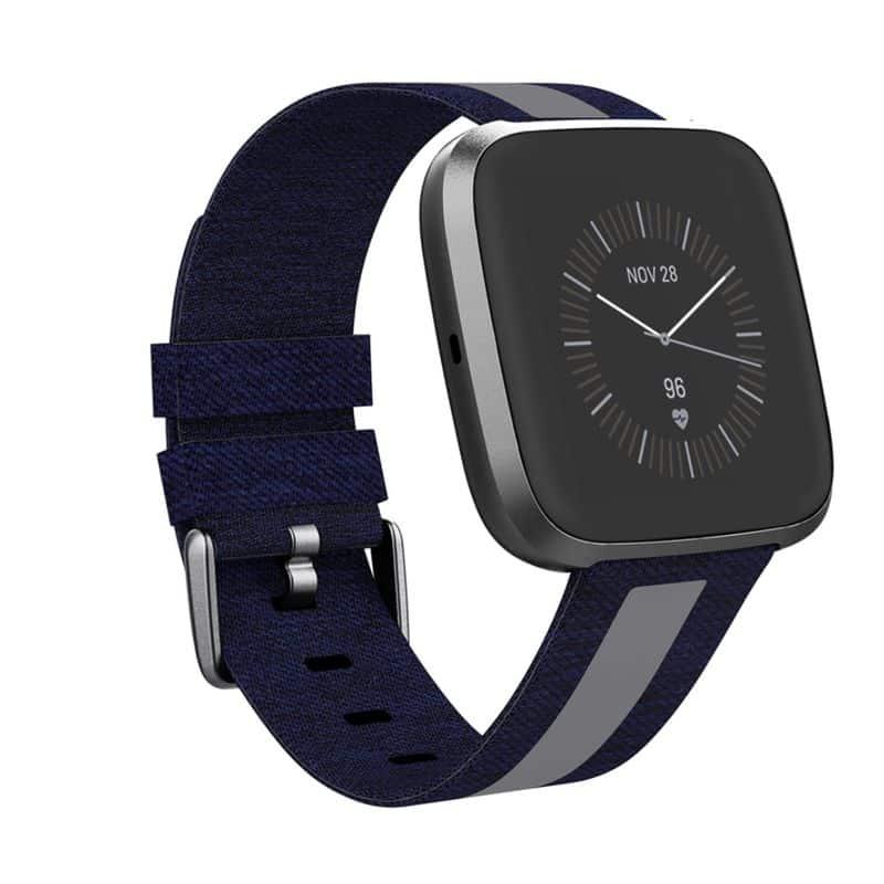 Fitbit versa bandje - donkerblauw - Fitbitbandje.nl