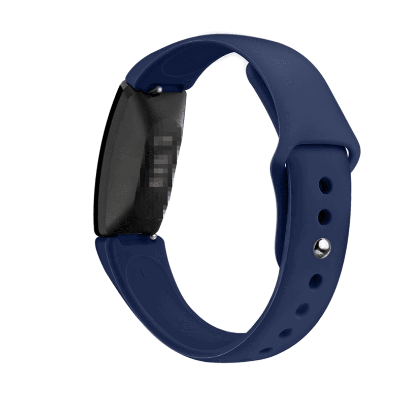 fitbit inspire hr bandje siliconen marineblauw - Fitbitbandje.nl