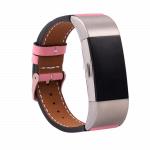 fitbit charge 2 bandje leer roze – Fitbitbandje.nl