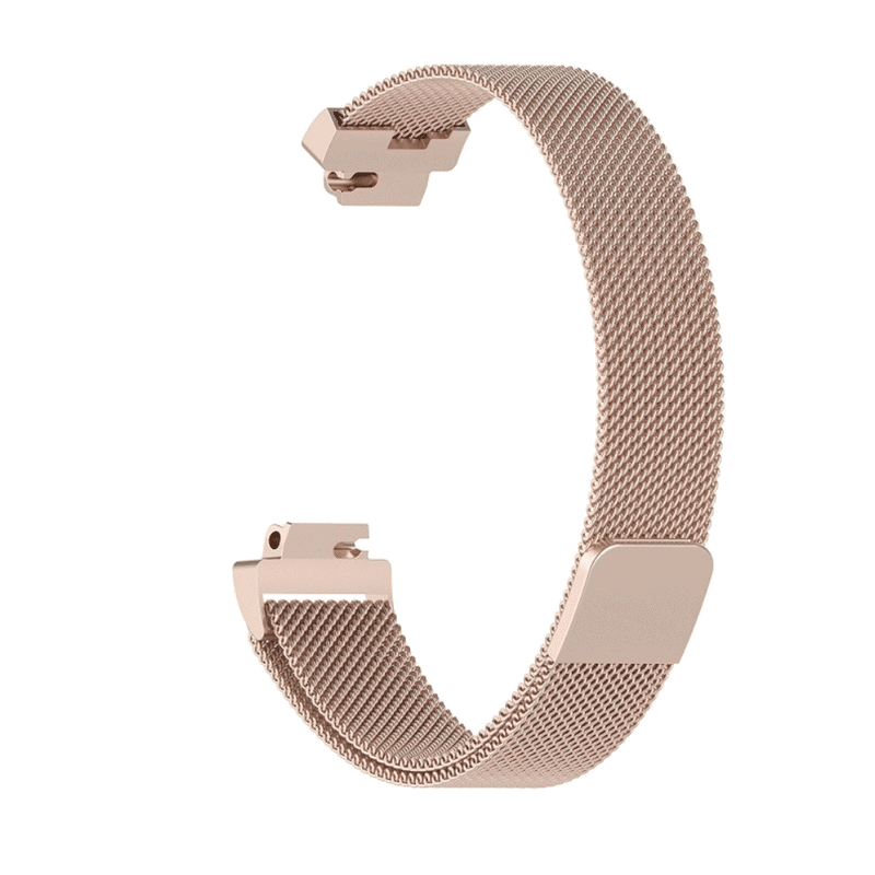 fitbit inspire ht inspire bandje milanese chmpagne goud - Fitbitbandje.nl