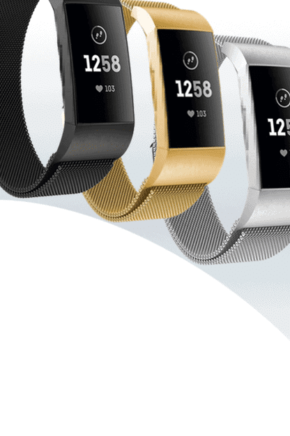 fitbit charge 4 milanese bandjes