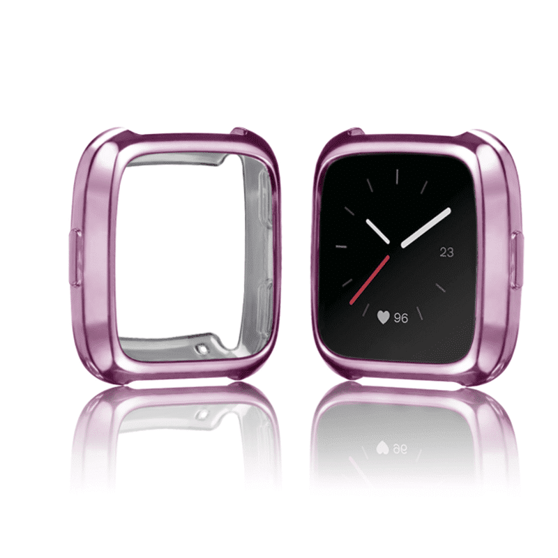 Screen protector roze fitbit versa - Fitbitbandje.nl