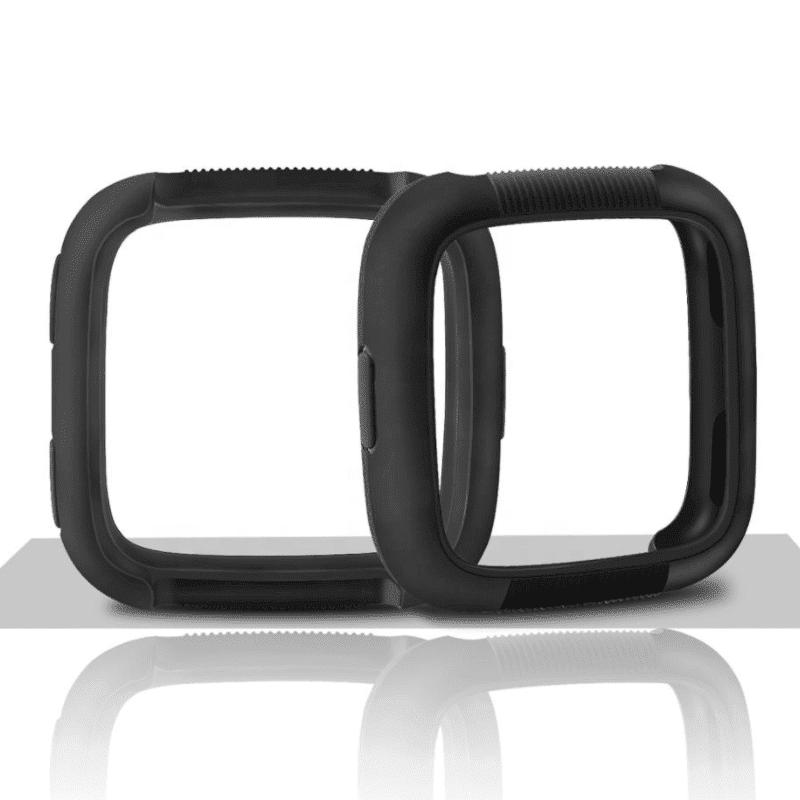 fitbit versa screen protector zwart- Fitbitbandje.nl