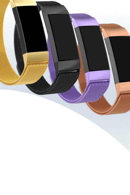 fitbit charge 4 bandjes milanese - Fitbitbandje.nl