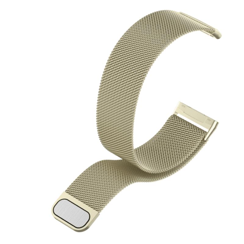 bandje fitbit versa 3 milanees vintage goud - Fitbitbandje.nl